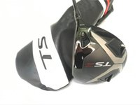 Wholesale golf clubs for sale - Group buy TS3 Driver TS3 Golf Driver Golf Clubs Degree R S SR KUROKAGE Graphite Shaft With Head Cover