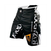 шорты мужские оптовых-Men's Sports Pants Training Muay Thai Fighting Fitness Combat Pants Tiger Muay Thai Boxing Clothing Shorts