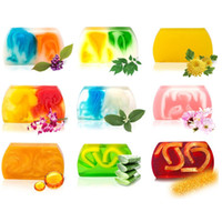 Wholesale bathrooms accessories resale online - Hot Washing and Bathing Handmade soap essential oil soaps Bathroom Accessories cleaning soap plant Facial Soaps