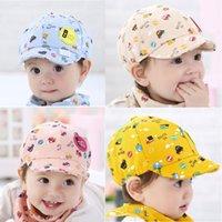 gorras de beisbol al por mayor-Nueva moda Cute Baby Kid Boy Girl Toddler Infant Hat Little Car Baseball Beret Cap