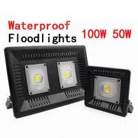 ángulo de haz del proyector al por mayor-Luz de inundación llevada interior de la lámpara 50W 100W de Foco del exterior de Refletor del punto de la pared al aire libre de los reflectores IP65 impermeables