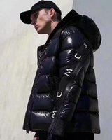 yüksek kaliteli alt katmanlı erkekler toptan satış-Erkek Kış Ceket Monclers Yüksek Kaliteli Kaz Tüyü Kış Coat Açık Trend Motosiklet Erkekler Kadınlar Parka Kanada Moda Marka ceket Aşağı