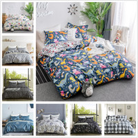 Wholesale white bedding for sale resale online - Jarl home Bedding Sets Luxury Microfiber Hotel Breathable Soft Wrinkle Free Fitted Bed Comporters Sets for Kids Twin Queen King Size On Sale