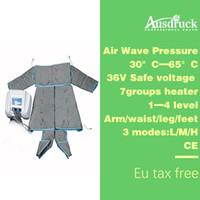 equipo de pérdida de grasa al por mayor-UE libre de impuestos Presión de aire Presión de onda de aire Adelgazante Desintoxicación máquina de pérdida de grasa envoltura corporal equipo de belleza delgado rápido ES600