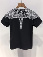 Wholesale wings boy for sale - Group buy Fashion New Angel Wings print boy girl Tops Tees summer cotton Brand Clothing T Shirt