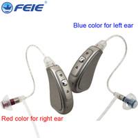 mini işitme cihazı amplifikatörü toptan satış-Programlanabilir kulak İşitme mini cihaz kulak amplifikatör dijital işitme dea f yaşlı acustico için kulağın arkasında