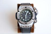 relógios de luxo venda por atacado-Luxo Mens Relógios 731.NX.1190.RX 4000 M À Prova D 'Água Mecânica Automática 1400 Movimento King Power Diver Caso Titanium Designer Watch