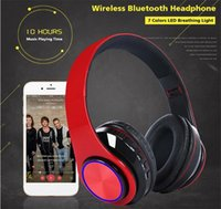 Wholesale lightweight cell phones online – New Release Portable Headphones Wireless Bluetooth Headphone year warranty Folding Lightweight Gaming Headset for phone Computer Epacket