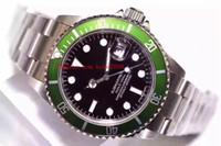 водонепроницаемые часы оптовых-Водонепроницаемый ТОП наручные часы BP factory 116610 116610LV 40 мм Керамическая рамка из нержавеющей стали ETA 2836 Механизм Автоматические мужские часы Часы