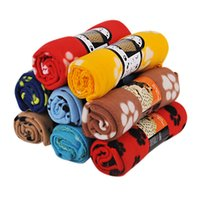 Wholesale dog car blankets resale online - Velvet Fleece Pet Blanket For Dogs And Cats Super Soft Cozy Double sided Mat For Couch Car Backseat Bed pet fleece blanket