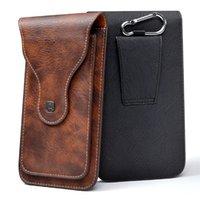 vertikale flip brieftasche fall großhandel-Universal Handy für 4,0