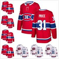 canadiens formaları toptan satış-Montreal Canadiens Jersey Shea Weber Brendan Gallagher Max Domi 15 Jesperi Kotkaniemi 31 Carey Fiyat Deplasman 2019 Stadyumu Serisi