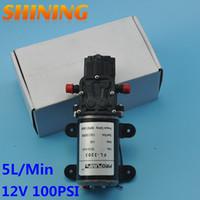 Wholesale 12v water pump cars resale online - DC V Multipurpose High Pressure Diaphragm Pump Car Washing Metering Spraying Water Pump Boat RV Pump