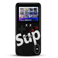 Wholesale iphone game cases online – custom Classic Nostalgic Super Mario Bros Handheld Game Consales Portable Game Player Protective Case Shell for iPhone X XR Plus in