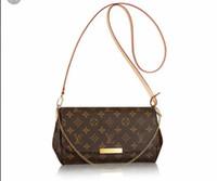kahverengi bayan omuz çantası toptan satış-(Seçim için 6 tarzı) ücretsiz kargo !!! Yeni bayanlar crossbody küçük omuz çantaları # 40718 kahverengi mektup