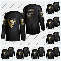 Wholesale phil kessel black ice jersey for sale - Group buy Pittsburgh Penguins Golden Edition Sidney Crosby Kris Letang Evgeni Malkin Patric Hornqvist Phil Kessel Jersey