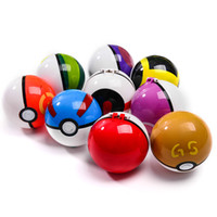 figura de pokeball al por mayor-Pokeball Parts Model Figure Toys Kids Portable Charge Figure Toys Regalo