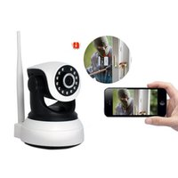 Wholesale record network camera for sale - Group buy HD Wireless Security IP Camera P Wifi Night Vision Audio Recording Surveillance Network Indoor Baby Monitor LCC