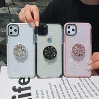 açık jöle kutusu toptan satış-iPhone 11 pro Max Yumuşak TPU Şeffaf Kılıf Darbeye Temizle Kapak Telefon Kabuğu tutucu Lüks Jelly Telefon Kılıfları
