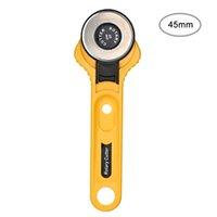cuchillo de retazos al por mayor-28 / 45mm Circular Rotary Cutter Knife Cuchilla de seguridad Patchwork Piezas de costura Costura Acolchado Tela Corte Leathercraft Tool
