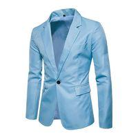 ingrosso pantaloni bianchi del vestito del legame dell'arco blu-2018 Autunno Uomo Suit Giacche Slim Top Blazer da sposa Cappotti Plaid Elegante American Royal Blue Vest Casual Maschile Adatta Masculino # 551102
