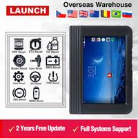 neue startdiagnose großhandel-2018 New Launch X431 V Wifi / Bluetooth 8-Zoll-Tablet-Systemdiagnosewerkzeug x-431 v pro mini 100% original DHL geben frei