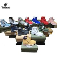 Wholesale fashion flowers for for sale - Timberland Inch Boots Shoes Running Sneakers Sports Racing Shoes Waterproof Shoes for Men Women Color Boots With Box