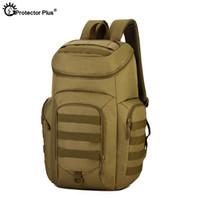 seyahat çantası taktik sırt çantası molle travel toptan satış-KORUYUCU ARTı Taktik Askeri Sırt Çantası 40L Erkekler Su Geçirmez MOLLE Sistemi 15 Inç Dizüstü Kamp çantası Açık Seyahat Sırt Çantası # 108897