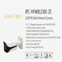 dahua network kamera mermisi toptan satış-Ücretsiz Kargo DAHUA Güvenlik IP Kamera 12MP IR Bullet Ağ Kamera IP67 Logo Ile POE Ile IP67 IK10