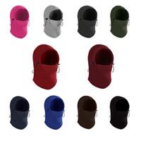 sombrero de orejeras de invierno al por mayor-Gorras de motocicleta al aire libre Unisex CS Warm Barakra Hat Máscaras tácticas cubierta de cabeza invierno Esquí de equitación Ciclismo Skull Caps Orejeras LJJA2878