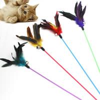 gıda kedileri toptan satış-Komik kedi Oyuncak kedi Teaser Türkiye Tüy kedi tırmalama oyuncaklar için tüy oyuncak Gıda Topu kediler tırmalamak Oynama için Eğitim