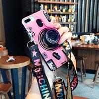 huawei telefonu için 3d vaka toptan satış-Huawei Mate 30 Pro Mate 20 20Pro Moda İpi Yumuşak Kapak için 3D Retro Kamera Telefon Kılıfı 2019 Pro P20 P Akıllı Y9 Y7 Y6 Huawei P30 için