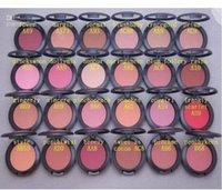 24 maquillaje al por mayor-maquillaje de la venta caliente de 24 colores Sheertone Blush 6G con el nombre del color