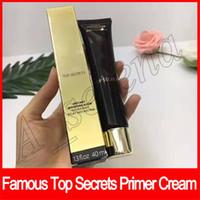 Wholesale bb cream primer resale online - Famous Brand Face Makeup Top Secrets Foundation Primer Cream Instant Moisture Glow Hydratant Eclat Instantane BB cream ML