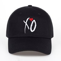 Wholesale xo hats resale online - Unisex Women Men X O Baseball Caps Newest Dad Hat XO Baseball Cap Snapback Hats High Quality Adjustable Design High Quality