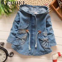 Wholesale outerwear infant resale online - WEPBEL Spring Autumn Baby Coat Outwear Children s Jackets Clothes Casco Infants Outerwear Girl Hoody Cardigan Trench Coat
