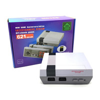 Wholesale video downloads resale online - Retro Mini Video Game Console Classic HD NES TV Bit Games Gaming Player Card Download Family Childhood Memories Gift
