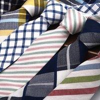 direkte krawatte großhandel-Krawatte Großhandel Hersteller Direktverkauf des neuen Trend der 2019 Business Freizeit Universal pfeilförmigen Herren Baumwollkrawatte