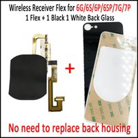 Wholesale Make Your iPhone G S P SP P Wireless Charged Receiver Flex with Glass Back Cover No Need to Replace Housing