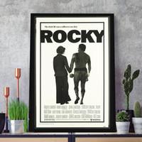 Wholesale original digital art online - Rocky Original Vintage Film HD Art Canvas Modern Poster Painting Wall Picture Print Home For Living Room Bedroom Decoration