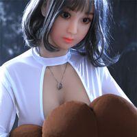 ingrosso corpo del sesso giapponese-Bambola del sesso Bambola giapponese in silicone 158CM Bambole del sesso reale per tutto il corpo realistico per uomo amore a grandezza naturale realistico per giocattoli sessuali per uomo