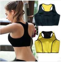 herramienta de modelado del cuerpo al por mayor-Mujeres Skinny Fitness Half Vest Chaleco deportivo en forma de cuerpo Yoga Sports Sports Bra Body Shaper Tools RRA1724
