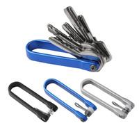 Aluminum Pocket Keychain U Shape Key Holder Clip Organizer Outdoor EDC Gear