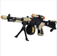 Wholesale wooden machines toy for sale - Group buy LNL Toy Submachine Machine gun Electric Toy Gun for Kids