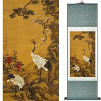 Wholesale chinese square art for sale - Group buy Birds And Flowers Painting Silk Leaves Painting Traditional Chinese Art Painting Home Decoration Painting2019072311