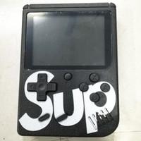 pantalla de regalos al por mayor-Hot Retro SUP Mini Handheld Game Player 400 en 1 Pantalla de Color Pantalla de Consola de Juego Portátil El Mejor Regalo de los Niños 3.0 pulgadas