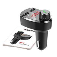 Wholesale cigarette lighter mp3 player for sale - Group buy Cigarette Lighter Socket G13 Car MP3 BT Player Dual USB Charging Pluggable Card FM BT Hands Free Car Accessories