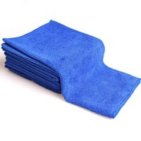 чистка мягкой ткани оптовых-1Pcs/set Car Wash Microfiber Towel Car Cleaning Drying Cloth Soft Cloths Absorbent Quick Large Size Dry 30 X 30cm