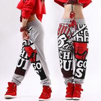 jogger sweatpants stars großhandel-Neue Mode Erwachsene Hosen Jogger Stern Jogginghose Muster Kostüme Grau Harem Hip Hop Dance Praxis Hosen Y190430