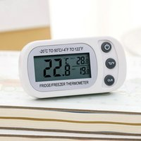Wholesale indoor thermometer resale online - Kitchen outdoor indoor compact infrared thermometer digital temperature tester non contact laser tester LCD display all Sun EM512